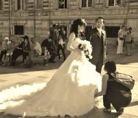 Watching wedding watchers