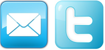 logo twitter email
