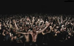 Granted, this could just be a mosh-pit...