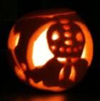Trick R Treat pumpkin