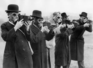 Victorian Gas-mask Photographers